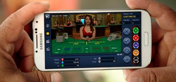 казино на мобильном телефоне